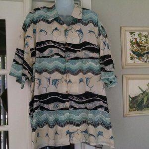Vintage Kahala  Attractive Hawiian Shirt  XXL